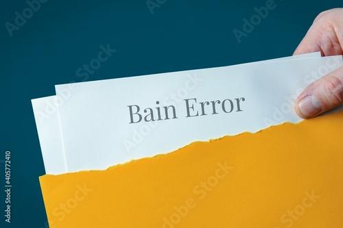 Foto Bain Error