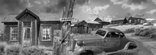 Abandoned Old Ghost Town  ,  Bodie State Park, California . Composite  Photograph