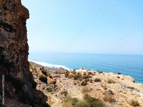 Fototapety, obrazy: Scenic View Of Sea Against Clear Sky
