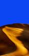 Leinwandbild Motiv Scenic View Of Desert Against Clear Blue Sky