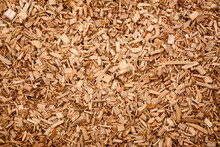Pile Of Brown Wood Chips
