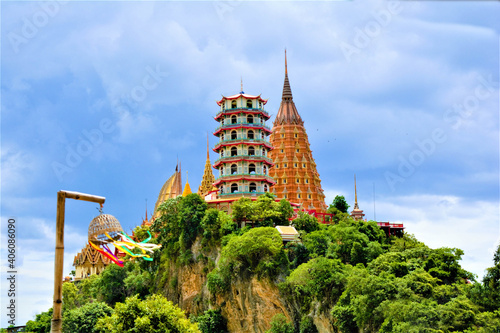 Fototapeta Thailand's temples and monasteries of China