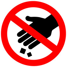 Do Not Litter Vector Sign