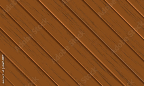 Photographie Seamless brown wood texture pattern design background, diagonally directed board