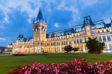 Iasi, Romania. Palace Of Culture
