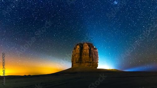 Slika na platnu Devil thumb or Judah thumb near Riyadh Desert