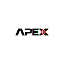 Apex Logo Design Concept Vector Illustration
