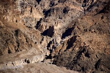 Full Frame Shot Of Rock Formation At Death Valley National Park