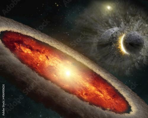 Fotografia Cosmic Catastrophe