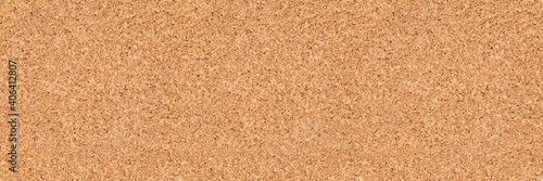 Fotografie, Obraz empty corkboard or pinboard or bulletin board cork background in wide banner or