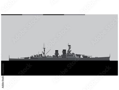 Fotografering HMS Renown