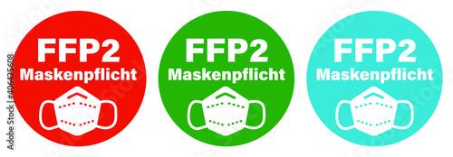 Photo FFP2 Masken-Pflicht Corona Pandemie