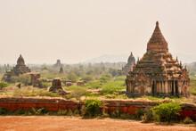 Ancient Temples Of Bagan, Myanmar