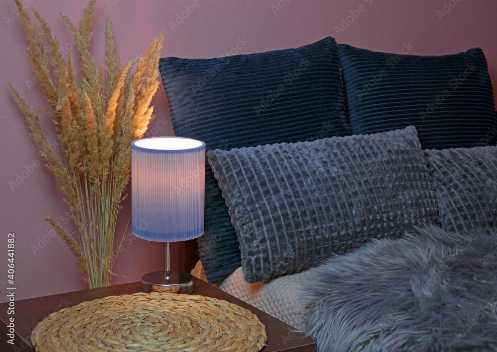 Fototapeta Wnętrze sypialnia