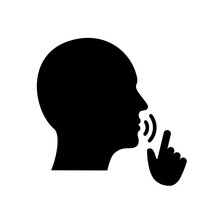 Quiet, Please. Keep Silence Symbol. Keep Quiet Sign – For Stock