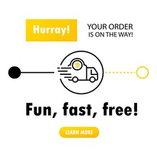 Fast Delivery From Store To Home. Service Icons. Online Delivery Service Concept, Online Order Tracking. Vector On Isolated White Background. EPS 10