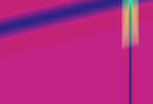 Purple And Blue Gradient With Blue Bars Grahic Abstract