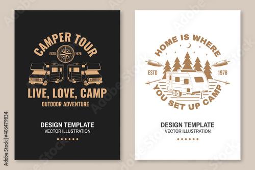 The best memories are made camping Tapéta, Fotótapéta