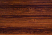 Dark Wood Table With Knots Background, Horizontal Background As Texture