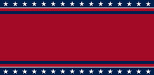 USA Banner Background