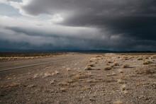 Storm In The Nevada Desert