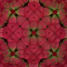 A Bizarre 3D Fractal Pattern With A Decorative Recursion Structure.