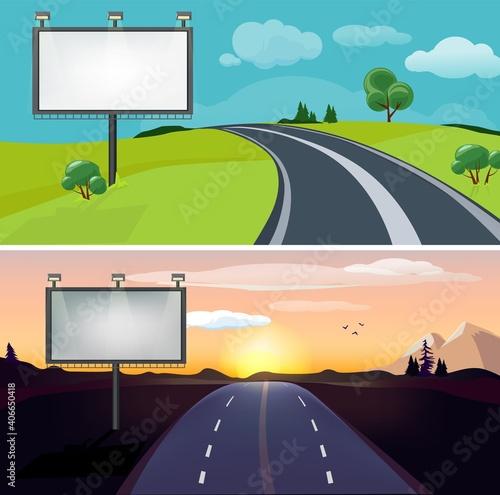 Canvastavla Road landscapes
