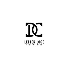 Initial Letter DC Logotype Company Name Monogram Design For Company And Business Logo.