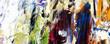 Leinwandbild Motiv Colorful abstract background wallpaper. Modern motif visual art. Mixtures of oil paint. Trendy hand painting canvas. Wall decor and Wall art prints Idea. 3D Texture. Art object