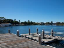 Beautiful Views Of Wallis Lake In Forster Beach NSW Australia