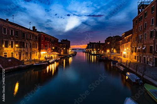 Fototapeta An Evening in Venice obraz na płótnie