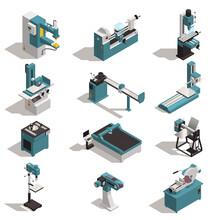 Metalworking Machines Set