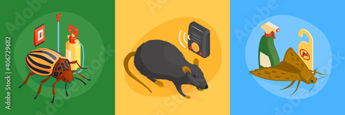 Obraz Pest Control Design Concept - fototapety do salonu