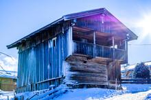 Old Barn In Austria