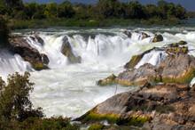 Khone Phapheng Falls Waterfalls Mekong River Pakse Southern Laos