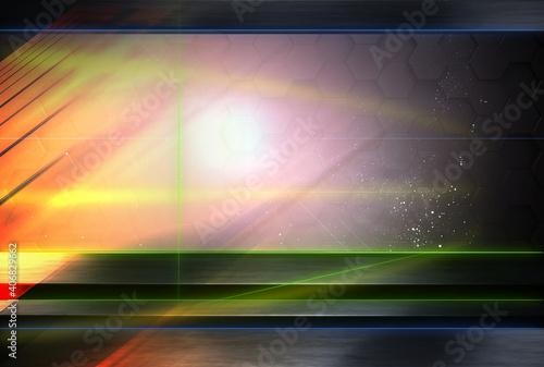 Obraz na plátně abstract background 3d rendering