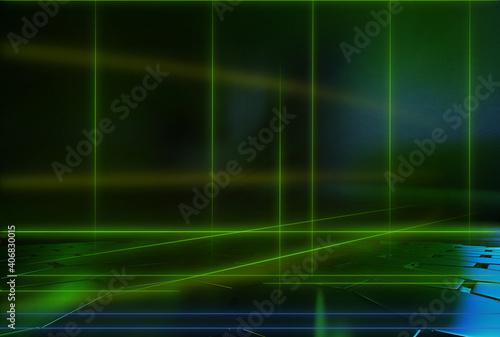 Fotografie, Obraz abstract background 3d rendering