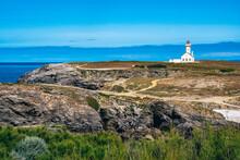 Foals Lighthouse On Cliffs Of Belle-Ile-en-Mer