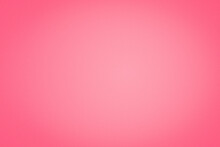 Abstract Plain Blank Pastel Red (Pink) Paper Like Gradient Textured Wallpaper Background With Vignette At The Edge. Love And Valentine Color Palette Theme.