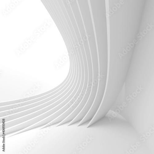 Modern Technology Wallpaper. White Business Texture