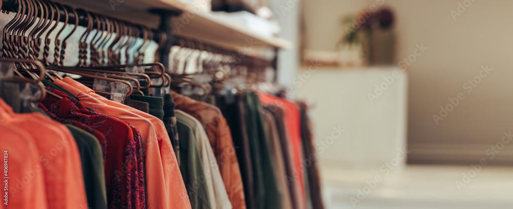 Fototapeta Fashion store