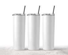 Blank Stainless Steel Three Tumbler