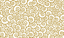 Seamless Pattern In Oriental Style, Chinese Background.