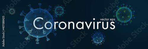 Photo Novel Coronavirus