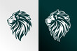 lion vector illustration logo
