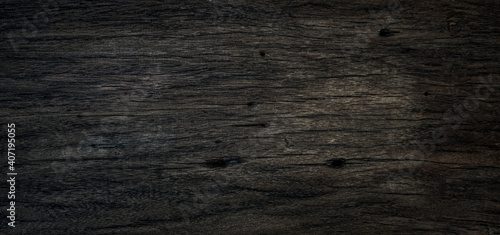 Photo Dark wood plank texture can be use as  background