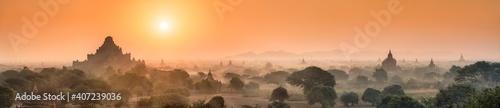 Valokuva Panoramic view of Dhammayangyi temple at sunrise, Old Bagan, Myanmar