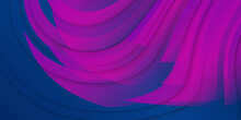Abstract Delaunay Wave Blue Purple Red Color Diagram Background Illustration