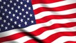 Highly Detailed American flag background 4K