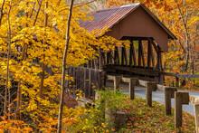 New Hampshire-Cornish-Dingleton Hill Covered Bridge #22